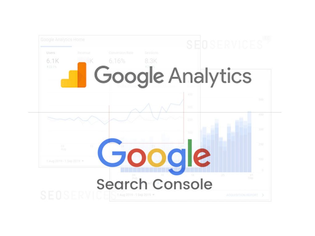 SEO services CC Google Analytics Search Console